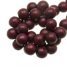 holzperlen intense cherry rot farbe 20 mm