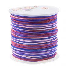 Nylonschnur (1 mm) Mix Color - Berries (100 Meter)