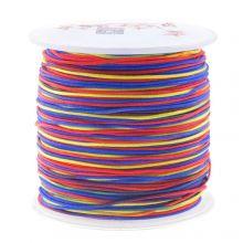 Nylonschnur (1 mm) Mix Color - Rainbow (100 Meter)