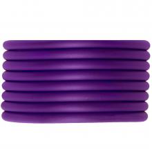 Gummiband hohl (4 mm) Perfect Purple (5 Meter)