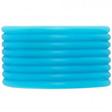 Gummiband hohl (4 mm) Sky Blue (5 Meter)