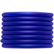 Gummiband hohl (5 mm) Royal Blue (2 Meter)