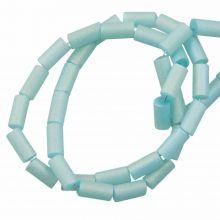 Galvanisierte Glasperlen (5 x 2.5 mm) Pale Turquoise AB (95 Stück)