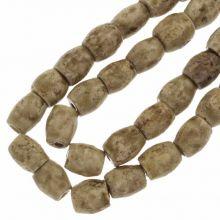 Keramikperlen (11 x 10 mm) Peru (18 Stück)