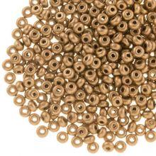 DQ Rocailles (2 mm) Golden Sand (10 Gramm / 1000 Stück)