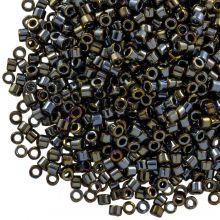 Miyuki Delica (11/0 mm) Metallic Black Luster (10 Gramm)