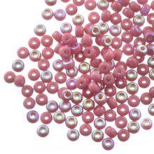 DQ Rocailles (3 mm) Antique Pink AB (25 Gramm / 600 Stück)