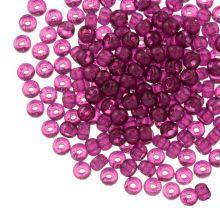 DQ Rocailles (3 mm) Mulberry Purple (25 Gramm / 600 Stück)