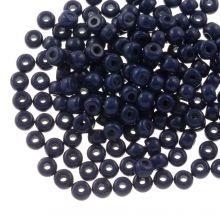 DQ Rocailles (3 mm) Indigo Blue (25 Gramm / 600 Stück)