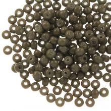DQ Rocailles (4 mm) Moss Brown (25 Gramm / 350 Stück)
