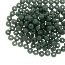 DQ Rocailles (3 mm) Green Teal (25 Gramm / 600 Stück)