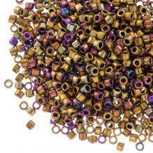 Miyuki Delica (11/0 mm) Metallic Golden Olive Iris (10 Gramm)