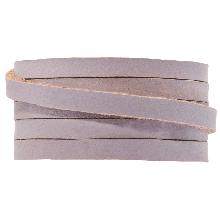 DQ Flaches Leder (5 x 2 mm) Lilac (1 Meter)