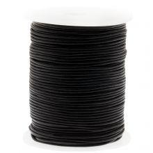 DQ Leder Regular (1 mm) Black (50 Meter)