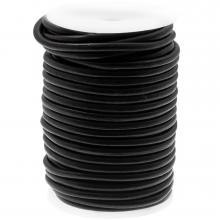 DQ Leder Regular (5 mm) Black (20 Meter)