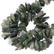 Rutilquarz Perlen (11 - 17 x 9 - 11 x 2 - 4 mm) 120 stück