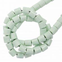 Achat Perlen Gefärbt (4.5 x 4.5 mm) Mint Green (90 Stück)