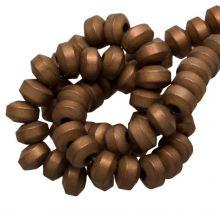 Hämatit Perlen (4 x 2.5 mm) Copper (155 Stück)