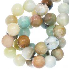Amazonite Perlen (8 mm) 48 Stück