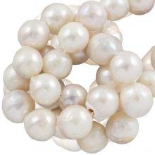 Keshi Perlen (10 - 12 mm) White (40 Stück)
