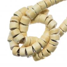 Kokos Perlen (4 - 5 mm) Sand (120 Stück)