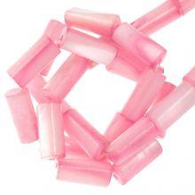 Muschelperlen (10 x 4 mm) Pink (36 Stück)