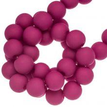 Acrylperlen Matt (6 mm) Hot Pink (490 Stück)