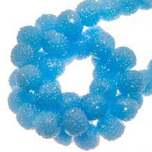 Acrylperlen Strass (4 mm) Water Blue (45 Stück)