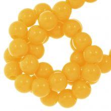 Acrylperlen (8 mm) Sunrise Yellow (100 Stück)