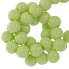 Acrylperlen (6 mm) Pastel Green (100 Stück)