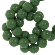 Acrylperlen (8 mm) Forest Green (100 Stück)