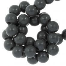 Acrylperlen (8 mm) Dark Grey (100 Stück)