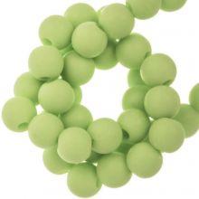 Acrylperlen Matt (8 mm) Pastel Green (100 Stück)