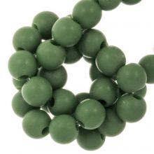 Acrylperlen Matt (6 mm) Forest Green (100 Stück)
