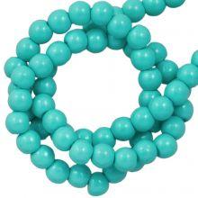 DQ Glaswachsperlen (2 mm) Turquoise (150 Stück)