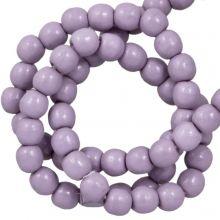 DQ Glaswachsperlen (2 mm) Lilac (150 Stück)