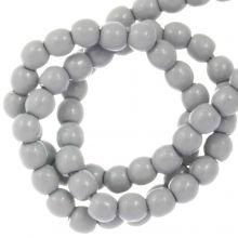 DQ Glaswachsperlen (2 mm) Grey Mist (150 Stück)