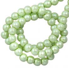 DQ Glaswachsperlen (2 mm) Mint Green (150 Stück)