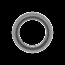 Edelstahl Perlen (4 x 1.5 mm) Altsilber (50 Stück)
