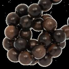 Holzperlen ebony runde perlen