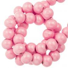 holzperlen pink metallic farbe 8 mm