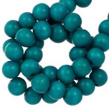 holzperlen azure blau farbe runde perlen 6 mm