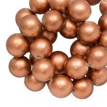 Holzperlen Metallic Look (20 mm) Copper (20 Stück)