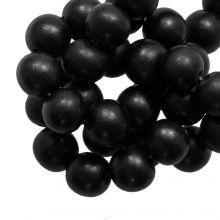 Holzperlen Intense Look (20 mm) Pitch Black (20 Stück)