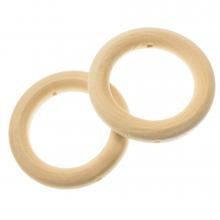 Holzperlen Ringe