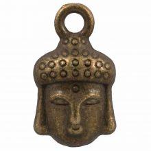 Charm Buddha (14 x 8 mm) Bronze (25 Stück)