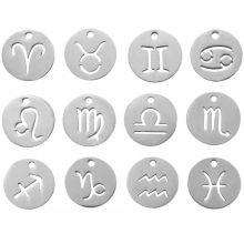 Charm Sternzeichen (12 mm) 12 Stück