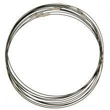 Halskette Drehverschluss (10 Stück) Black (45 cm)