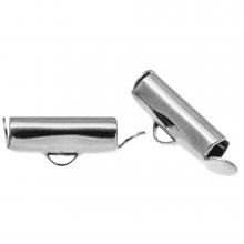 Endkappe (13 mm) Altsilber (10 Stück)