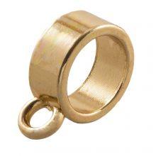 Charmträger (Innenmaß 9 mm) Gold (10 Stück)